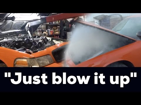 """Replacing the engine before the """"Burnout Challenge"""""""