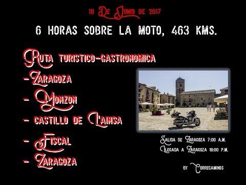 Ruta touring. Zaragoza - Monzon - Ainsa - Fiscal - Zaragoza