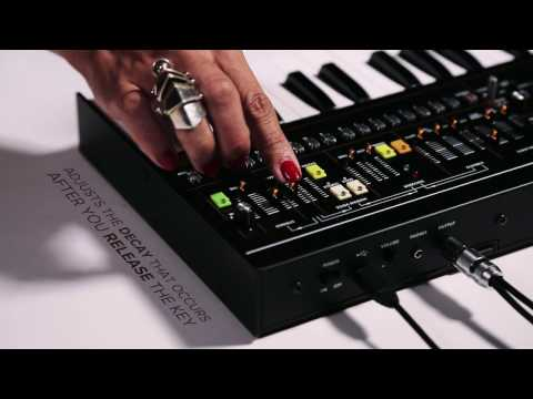 Roland Boutique Start - VP-03 Vocoder Synthesizer Tutorial