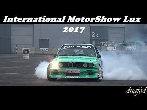 Drift & ONBOARD /// International MotorShow Luxembourg 2017