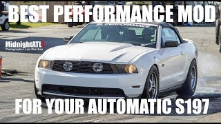 Your AUTOMATIC V6 Mustang NEEDS THIS MOD....