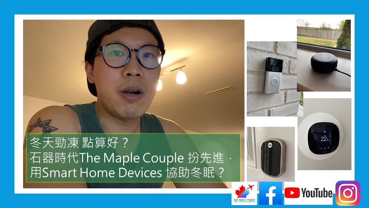 冬天勁凍點算好?石器時代The Maple Couple 扮先進,用Smart Home Device [協助冬眠]?