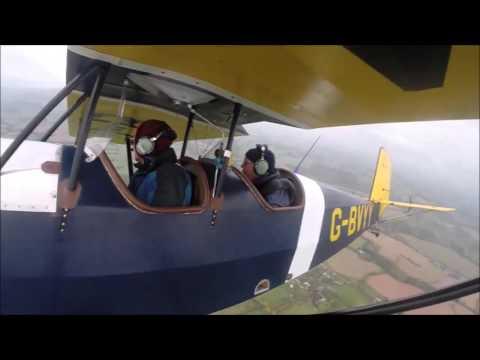 Pietenpol Aircamper G-BVYY - Mick Lyon 1st flight