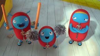 ZellyGo - Cheerleader | Lustige Cartoons für Kinder, Zeichentrickfilme für Kinder | Videos Für Kinder
