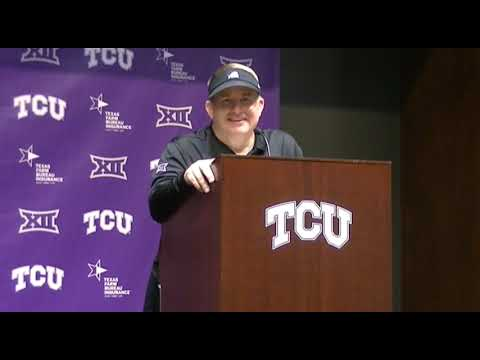 TCU HC Gary Patterson talks Frogs' win over K-State