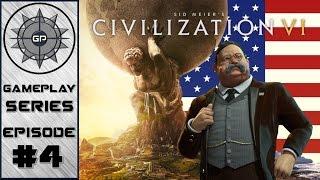 Naval Exploration - Civilization VI America 4K Series #4