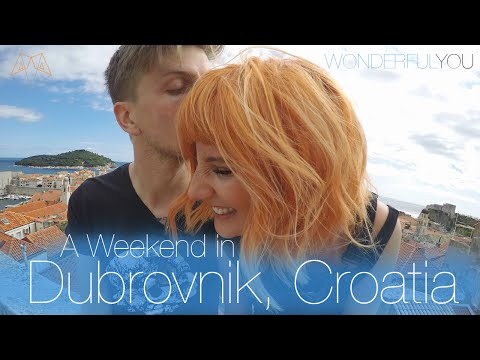 A WEEKEND IN DUBROVNIK, CROATIA! | #WonderfulYouTravels