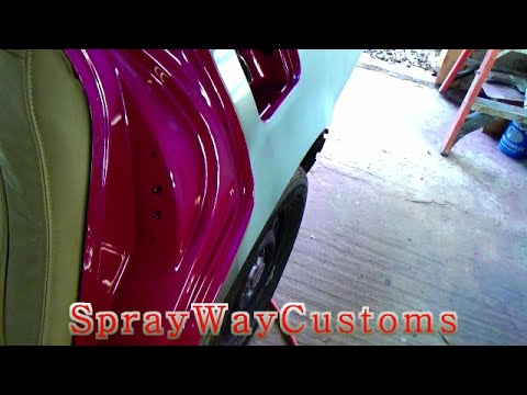 How To Paint Door Jambs Outrageous Paint On 2001 Cadillac Deville