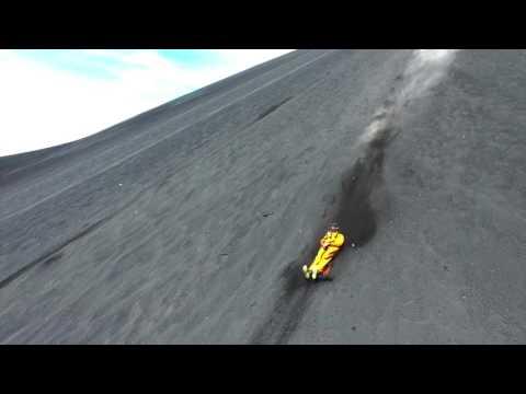 Volcano Boarding - Leon, Nicaragua