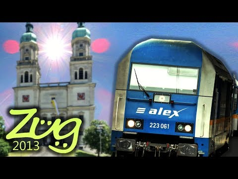 Zug2013: alex Immenstadt - Kempten - Buchloe - München Hbf | alex Dokumenation Teil 4