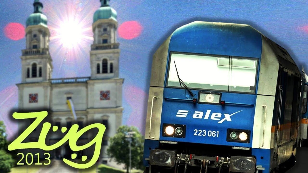 Zug2013 Alex Immenstadt Kempten Buchloe München Hbf Alex Dokumenation Teil 4