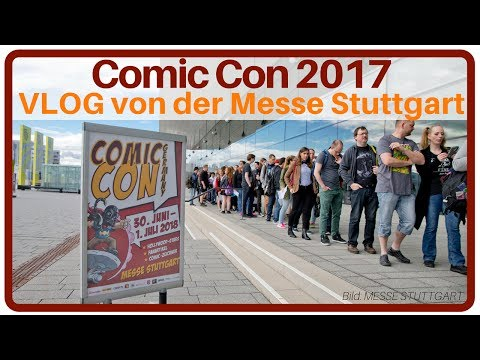 Comic Con 2017 | VLOG | + SEGWAY | Messe Stuttgart 2017 | Comic Con Spezial