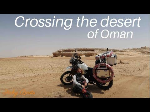 CROSSING THE DESERT - Royal Enfield Himalayan BS4 (2018) - to Sinaw, Oman