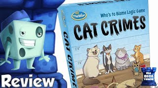 Cat Crimes Review - with Tom Vasel
