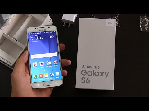 Samsung Galaxy S6 Unboxing and First Impressions