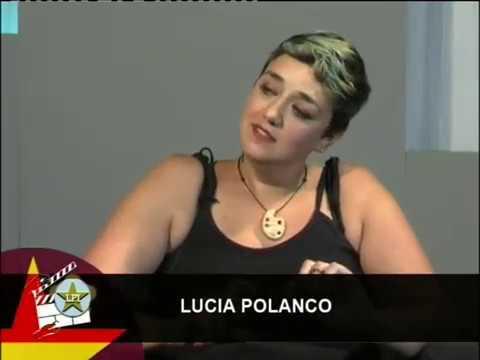 El Cine con la Artista Cantabra Lucia Polanco