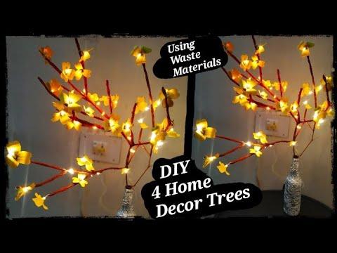 4 DIY Room Decor! Easy Crafts at Home,DIY Idea for Teenagers(DIY Easy home Decor Pieces)#tulikajagga