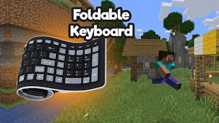 Speedrunning Minecraft with a Foldable Keyboard & Normal Runs