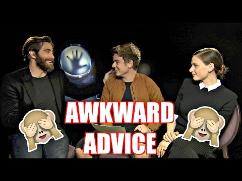 AWKWARD ADVICE | ft. JAKE GYLLENHAAL & REBECCA FERGUSON