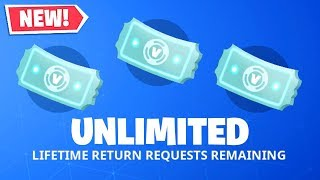 How To Get UNLIMITED REFUNDS In Fortnite.. (Season 8)