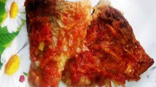 Рыба жареная под маринадом.Как Вкусно Приготовить Рыбу #РЕЦЕПТ