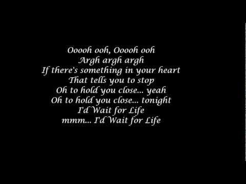 I'd Wait For Life Take That lyrics covered by David Walker