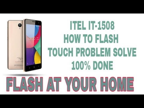 ITEL IT-1508 Touch Not Working Problem Solve 100 % Done ( Touchpad Fix)