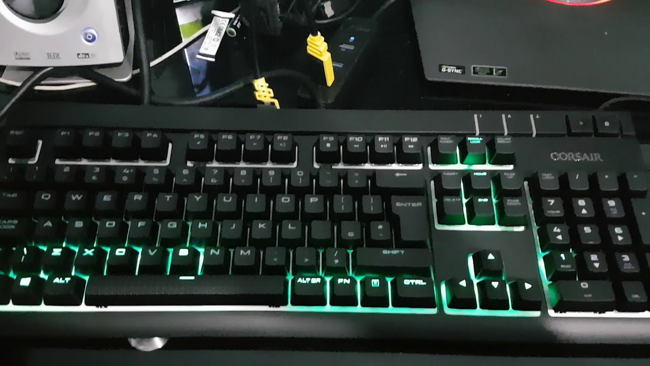 Who needs an equalizer spectrum when you have this beauty!? Corsair RGB  strafe