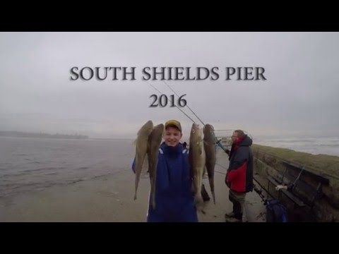 Cod Fishing. North East England.