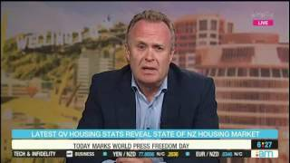 QV's General Manager QV homevalue discusses the April QV House Price Index on the AM Show 3 May 2017