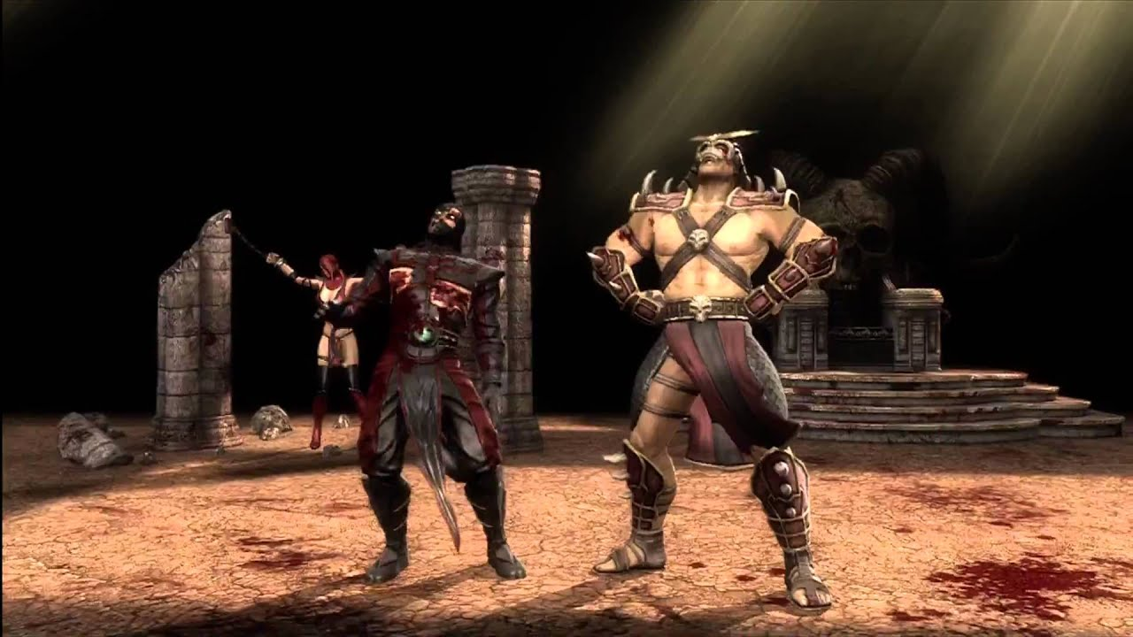 Mortal Kombat 9 - Exclusive Shao Kahn Fatality 1 - YouTube