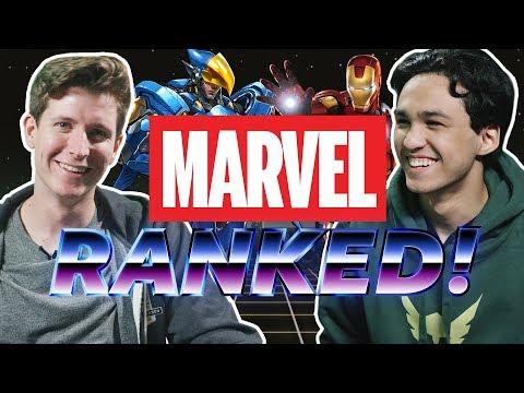 Marvel vs Overwatch | Ranked! thumbnail