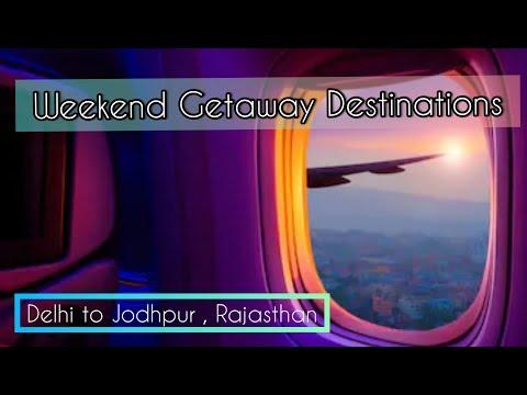 Delhi to Jodhpur City in Rajasthan |Weekend Getaways Destinations | India Vlog | Hindi Vlog