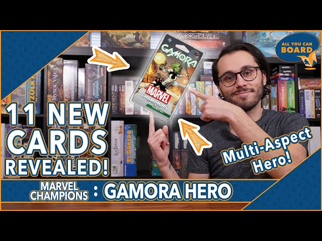 GAMORA Hero Pack | Marvel Champions | 11 NEW CARDS Revealed (THANOS Incoming?!)