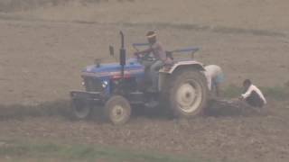 how to cultivate with tractor in india