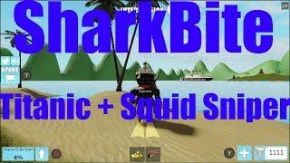 Roblox SharkBite Titanic And Squid Sniper (Xbox One X)