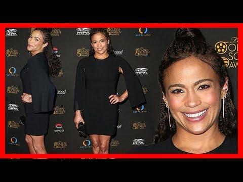 Breaking News | Paula patton wears little black dress for awards in la