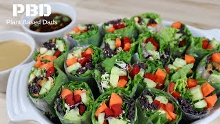How To Make Spring Rolls  Healthy Salad Recipes