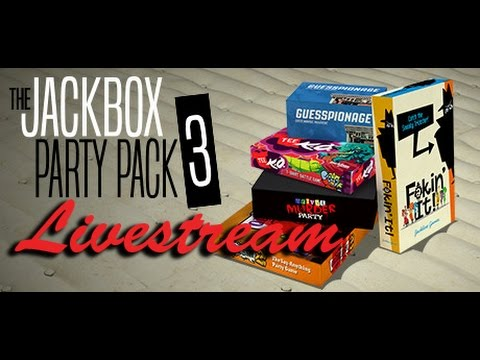 HOGWASH!!! The Jackbox Party Pack 3 Livestream from Adventures in Gaming