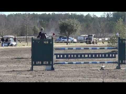 Adele Marchant & George Low Junior/Amateur Jumper Class Jumpoff- Aiken Cupid Classic 2013