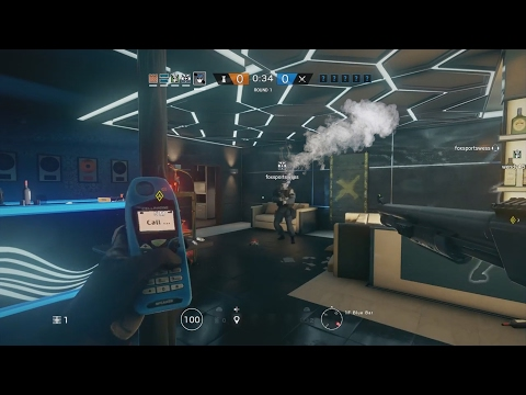 Trolling A High Player With My C4 In Rainbow Six Siege