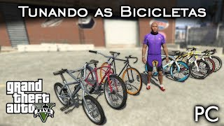 Tunando as Bikes! =D | GTA V - PC [PT-BR]