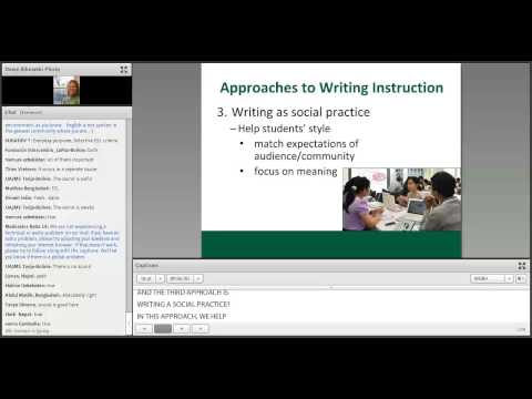 AE Webinar 4.4 - Building your Toolkit: Steps and Strategies for Teaching Academic Writing
