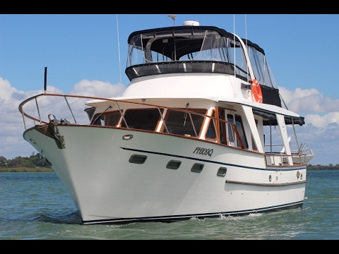 Defever 48 Motor Yacht Boat SOLD by Peter Hansen Yacht Brokers Raby Bay