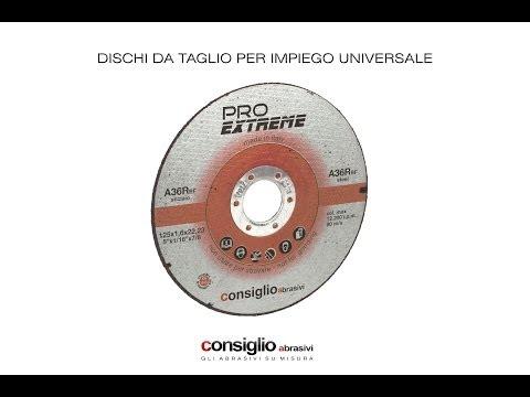 Consiglio Abrasivi: Disco abrasivo da taglio universale