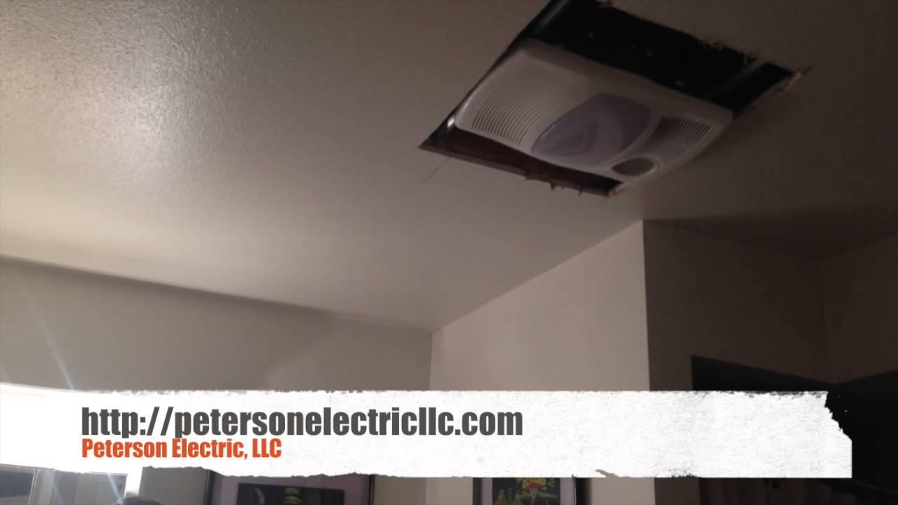 What To Expect When Replacing An Older Heat Light Fan Bathroom Fan