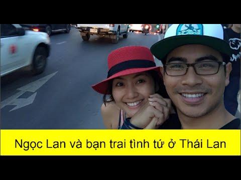 Ngọc Lan và bạn trai tình tứ ở Thái Lan(tin tuc sao viet)