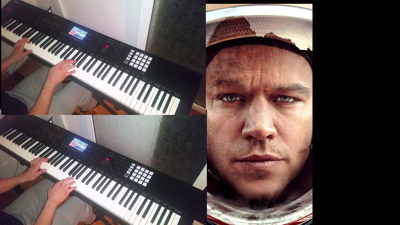 PIANO   The Martian   Trailer #1 Dean Valentine   For Joe Piano Cover