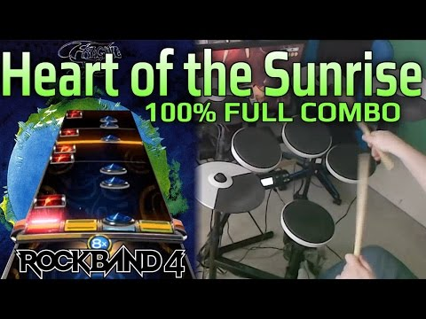 Yes - Heart of the Sunrise 551k 100% FC (Expert Pro Drums RB4)