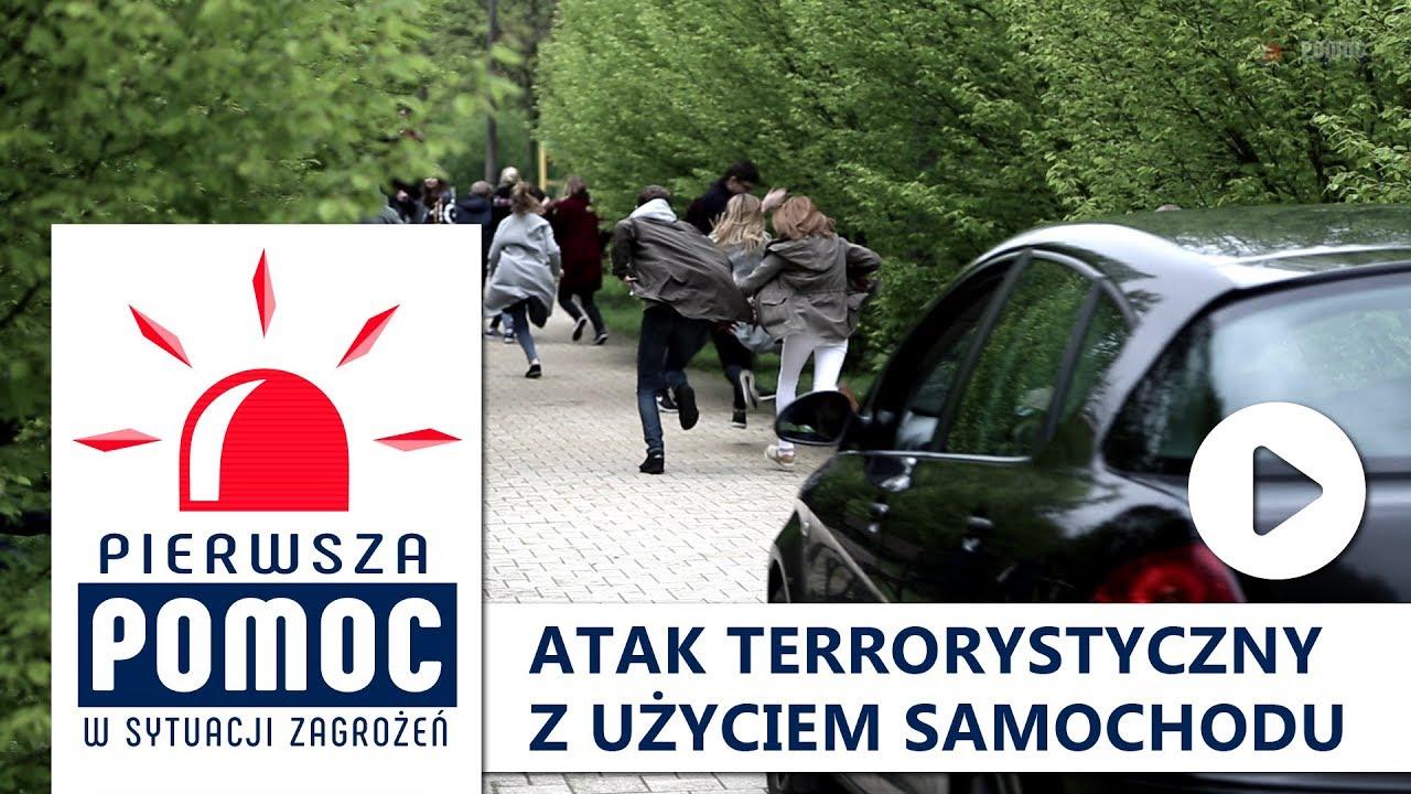 PIERWSZA POMOC: Atak terrorystyczny z użyciem pojazdu